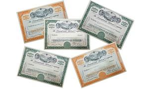 Pennsylvania Railroad Company Stock Certificate