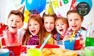 Grand Party Eventos: Grand Party Eventos – EPTG: festa em domicílio para 80, 100 ou 110 pessoas