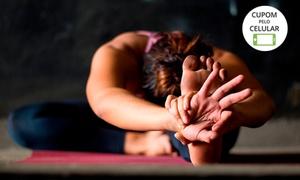 Espaço Ong Namo: 1, 3 ou 6 meses de aulas de ioga no Espaço Ong Namo – São Braz
