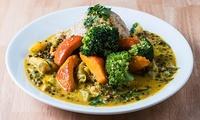 Großes Bio-Veganes Hauptgericht mit Salat für 1 oder 2 Personen bei Byoo Organic Kitchen (bis zu 41% sparen*)