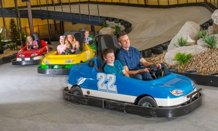 One or Two Rides in Single or Double Go-Karts at Grand Country Fun Spot (Up to 27% Off)