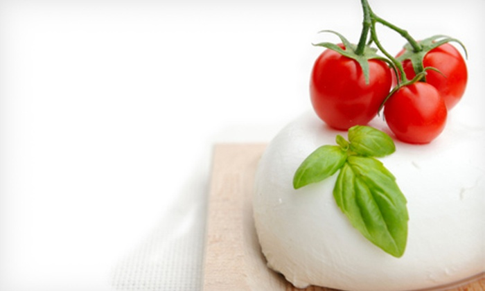 Chef Serge at Cafe De Paris - Birmingham: Mozzarella-Making Class with Wine Tastings for One, Two, or Four from Chef Serge at Cafe De Paris (Up to 56% Off)