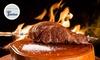 Grill House - Salerno: Menu con tagliata di manzo Picanha oAngus, dolce e vino per 2 persone al ristorante Grill House (sconto fino a 57%)