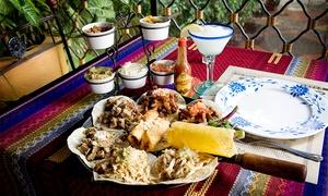 El Salto De Las Ranas: Almuerzo o cena mexicana de tres pasos para dos o cuatro + bebidas en El Salto De Las Ranas Recoleta