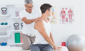 Centre Chiropratique de la Santé Vertébrale: Chiropractic Care Package with Optional Massage at the Centre chiropratique de la santé vertébrale (Up to 91% Off)