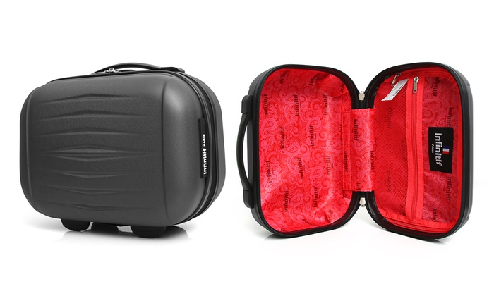 220ef1a5314cb Infinitf Suitcase or Vanity Case