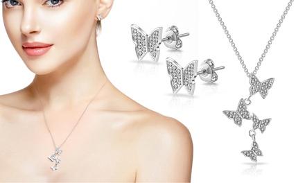 Philip Jones Butterfly Jewellery