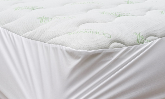Up To 48 Off On Essence Of Bamboo Mattress Pad Groupon