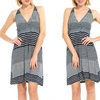 Striped Halter-Top Dress