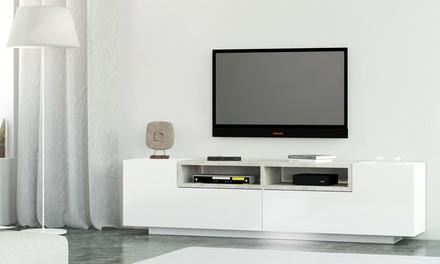 meuble tv jim groupon shopping. Black Bedroom Furniture Sets. Home Design Ideas