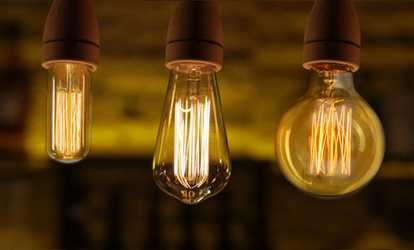 Triangle bulbs led strip lights waterproof flexible led strip shop groupon antique style edison light bulbs 1 2 or 4 pack aloadofball Image collections