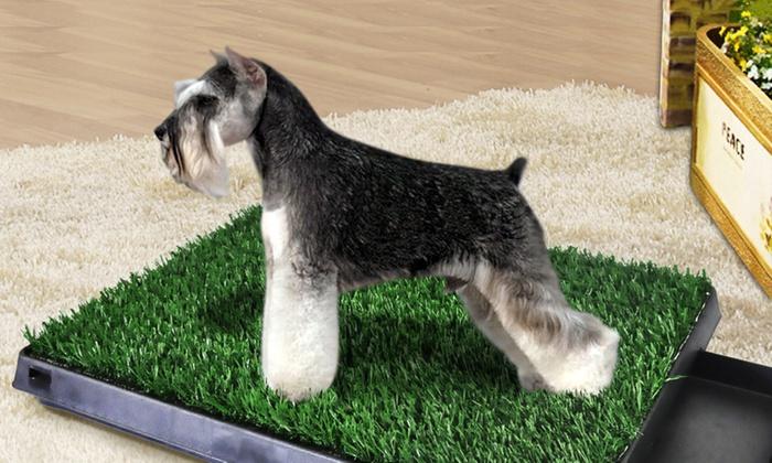 Uniwide Australia Pty Ltd: Pet Potty Pad with Grass: One ($45) or Two ($55)