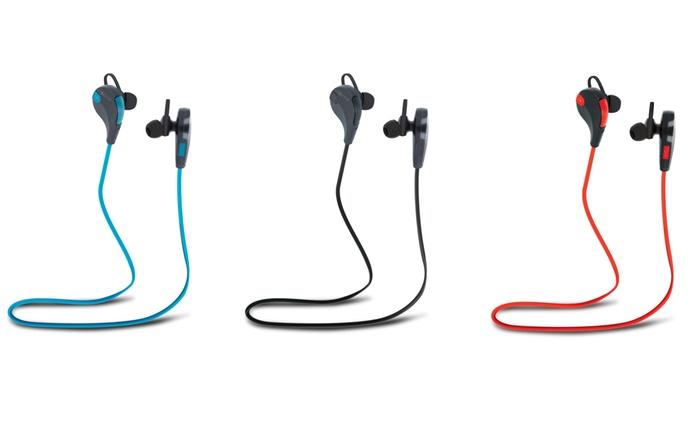 Cuffiette auricolari sportive con Bluetooth e microfono Forever BSH-100 disponibili in 3 colori a 9,99 € (80% di sconto)