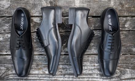 Déstockage Chaussures Richelieu en cuir Redfoot, modèle et pointure au choix