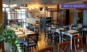 Fil Gastrobar: Menu vegetariano gourmet con calice o bottiglia di vino per 2 persone al ristorante Fil Gastrobar (sconto fino a 47%)
