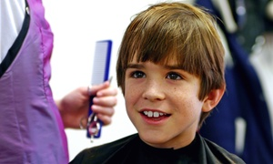 Kids Friendly Salon: One, Two or Four Boys' Haircuts at Kids Friendly Salon (Up to 57% Off)