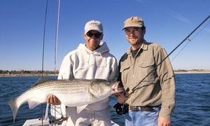 Razor Fin Charters: Two-Hour Fishing Trip for One, Two, Four, or Six or Private Fishing Trip from Razor Fin Charters (Up to 65% Off)