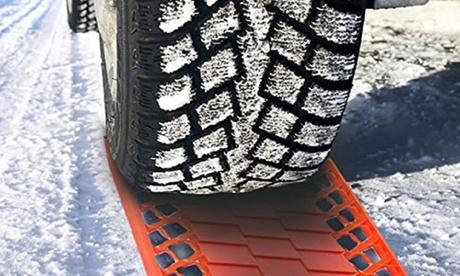 1 o 2 sets de 2 rampas de plástico para las ruedas del coche
