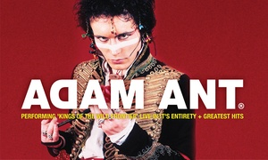 Adam Ant: Adam Ant at The Tivoli Theatre: Tickets from $93.79, Friday 13 October