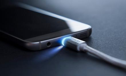 1, 2 o 3 cables LED inteligentes micro USB a USB