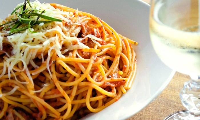Ciao Amicis - Brighton: Italian Dinner at Ciao Amici's (Half Off). Two Options Available.