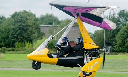 image for One-Hour Flex-Wing Microlight Flying Experience at Learn to Fly (46% Off)