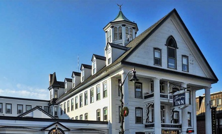 Stay at Thayers Inn in Littleton, NH; Dates into April