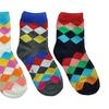 Angelina Cotton Blend Crew Socks (4-Pairs)