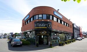 Le Masala Street: Buffet indien à volonté et plats wok, boisson comprise pour 1 ou 2 personnes dès 19,90 € au restaurant Le Masala Street