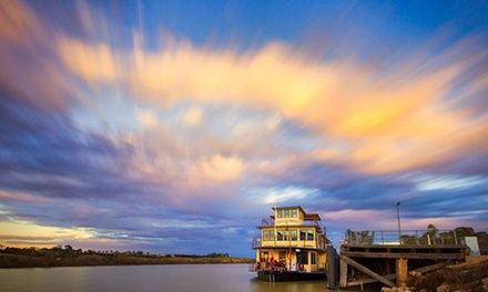 Sunday Brekky Cruise: Child ($22), or 1 ($40) or 2 Adults ($79), or Family ($109) with Captain Proud Paddle Boat Cruises