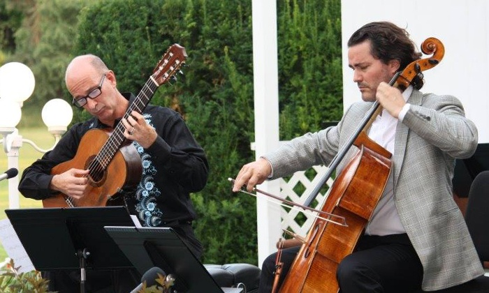 Zuill Bailey, Cello & David Leisner, Guitar in Concert  - Multiple Locations: Zuill Bailey, Cello & David Leisner, Guitar in Concert (October 17 at 7:30 p.m. and October 18 at 2 p.m.)