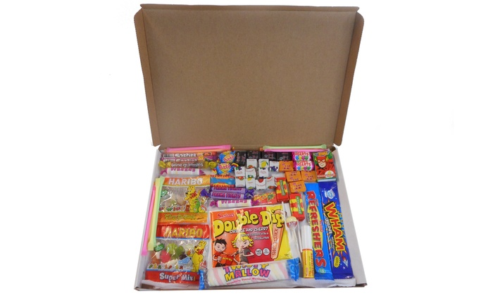 Retro Sweet Letterbox Buster Hamper from £5