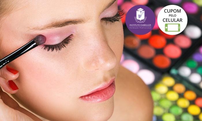 Instituto Embelleze: Instituto Embelleze – 5 endereços: curso de automaquiagem para 1 pessoa