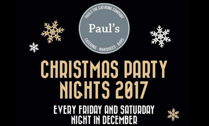 image for Great Gatsby-Themed Christmas Party for Two or Four at Paul's The Catering Company, 8-23 December, 2017 (Up to 66% Off)