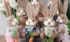 One or Two Simulation Easter Rabbit Ornaments