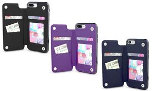 Gear Beast Wallet Case For Apple iPhone X, 8, 8 Plus, 7, 7 Plus