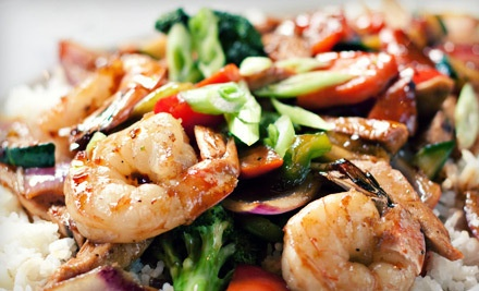 $20 Groupon to East Winds Asian Cuisine - East Winds Asian Cuisine in Huntington Beach