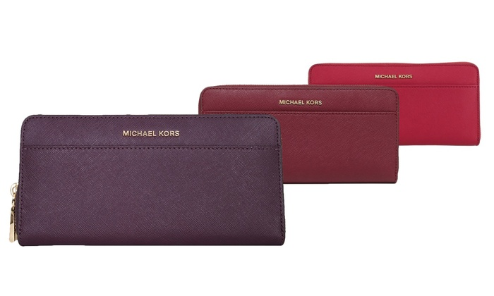 435cb483178f Michael Kors Saffiano Leather Wallets | Groupon