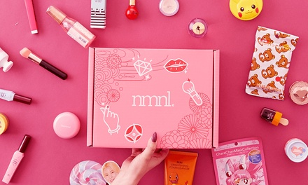$25 for OneMonth Beauty Box Subscription from nomakenolife Up to $51.81 Value
