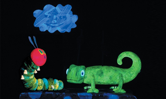 """""""The Very Hungry Caterpillar and Other Eric Carle Favorites"""" - Mainstage Theatre at The Mendel Center: """"The Very Hungry Caterpillar and Other Eric Carle Favorites"""" at The Mendel Center Mainstage (Up to 61% Off)"""