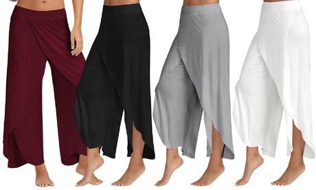 Pantalón flojo de yoga para mujer