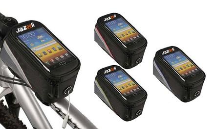 Soporte de móvil para bicicletas disponible en varios colores por 7,99 € (60% de descuento)
