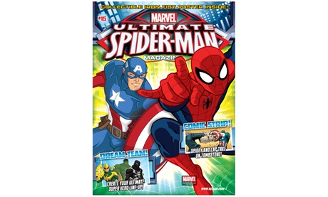 One-Year Subscription to Ultimate Spider-Man Magazine (6 Issues) 56d8dc63-9425-468d-9d8a-24c3ba7eafb7