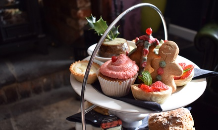 Festive Afternoon Tea with Prosecco for Two or Four at The Stag (Up to 71% Off)