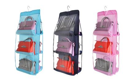 1, 2 ou 3 sacs de rangement pour sac à main avec 6 poches