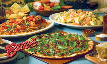 $10 for $20 Toward Buca di Beppo'sGarden Fresh Summer Favorites and Italian Cuisine (50% Off)