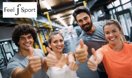 1 mois d'accès illimité pour 1 ou 2 personnes dès 9,90 € dans lun des centres Feel Sport
