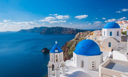 ✈ Santorini: Up to 7 Nights with Breakfast, Return Flights and Optional Transfers*