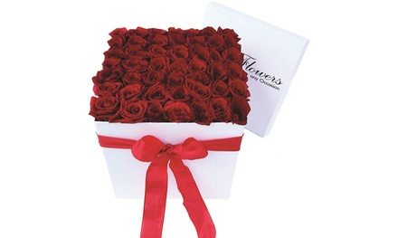 Flower Arrangements or Boxes of Roses at Li-Flowers (Up to 50% Off). Two Options Available.