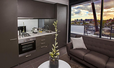 Melbourne: 2-, 3- or 5-Night Stay for Two or Four with Late Check-Out and Wine at Amazing Accommodations: South Yarra